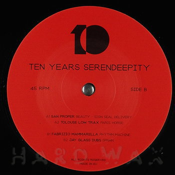 Cover art - Various Artists: Serendeepity Ten Years Part 1