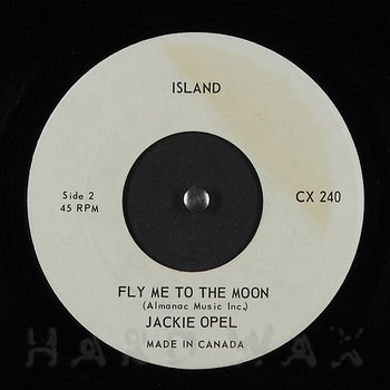 Cover art - Jackie Opel: You Send Me / Fly Me To The Moon