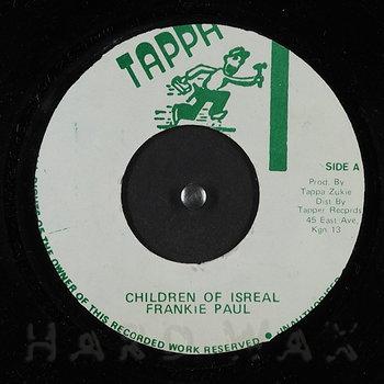 Cover art - Frankie Paul: Children Of Israel