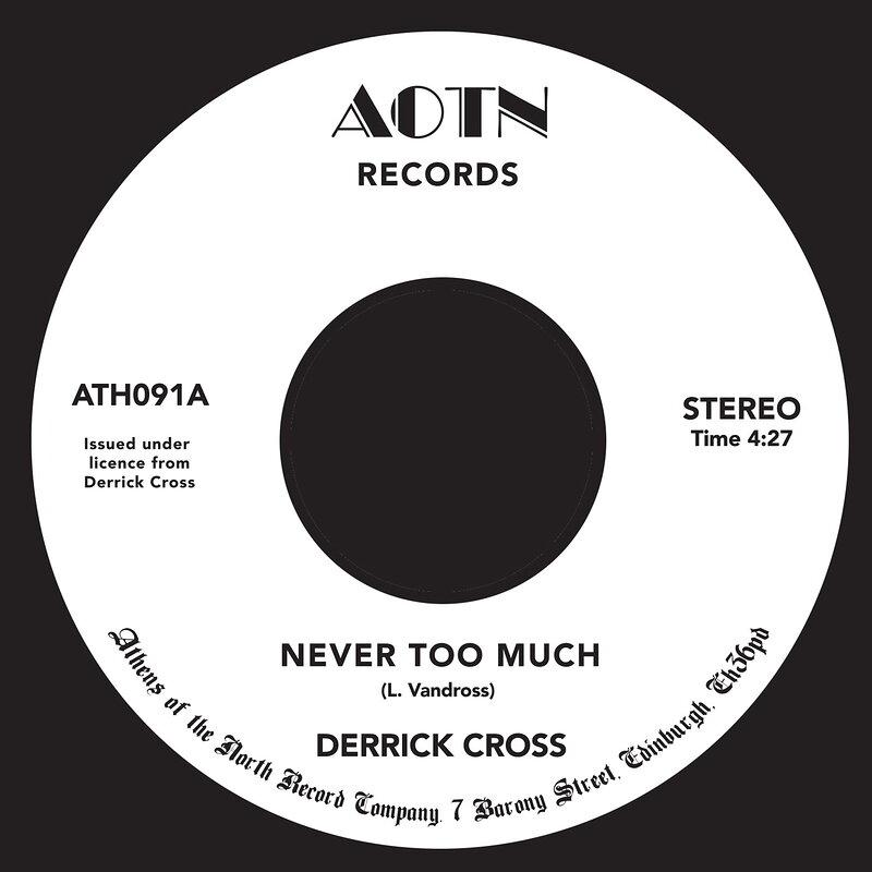 Cover art - Derrick Cross: Never Too Much