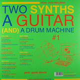 Cover art - Various Artists: Two Synths, A Guitar & A Drum Machine - Soul Jazz Records #1 Post Punk Dance