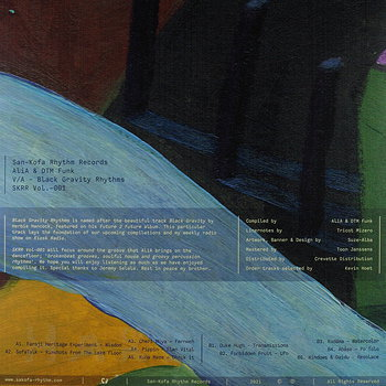 Cover art - Various Artists: AliA & DTM Funk Pres. Black Gravity Rhthms