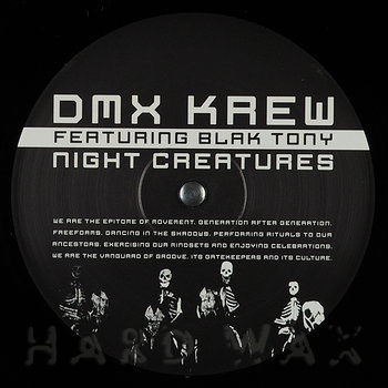 Cover art - DMX Krew Feat. Blak Tony: Night Creatures