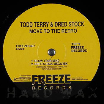 Cover art - Todd Terry & Dred Stock: Move To The Retro