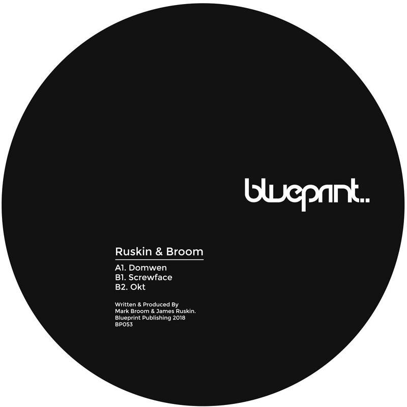 Cover art - Ruskin & Broom: Domwen