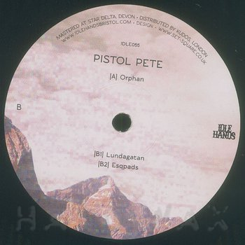 Cover art - Pistol Pete: Orphan
