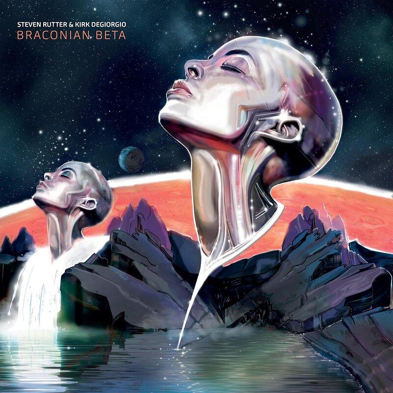Cover art - Steven Rutter & Kirk Degiorgio: Braconian Beta