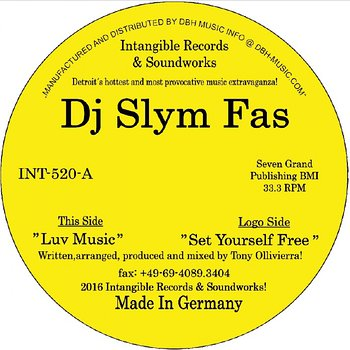 Cover art - DJ Slym Fas: Luv Music
