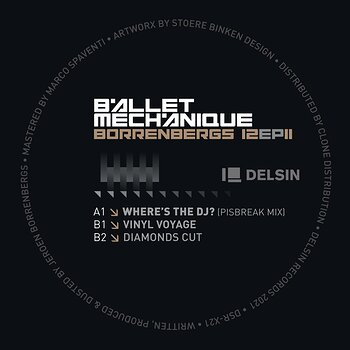 Cover art - Ballet Mechanique: Borrenbergs 12 EP II