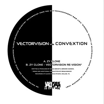 Cover art - Vectorvision & Convextion: Zy Clone