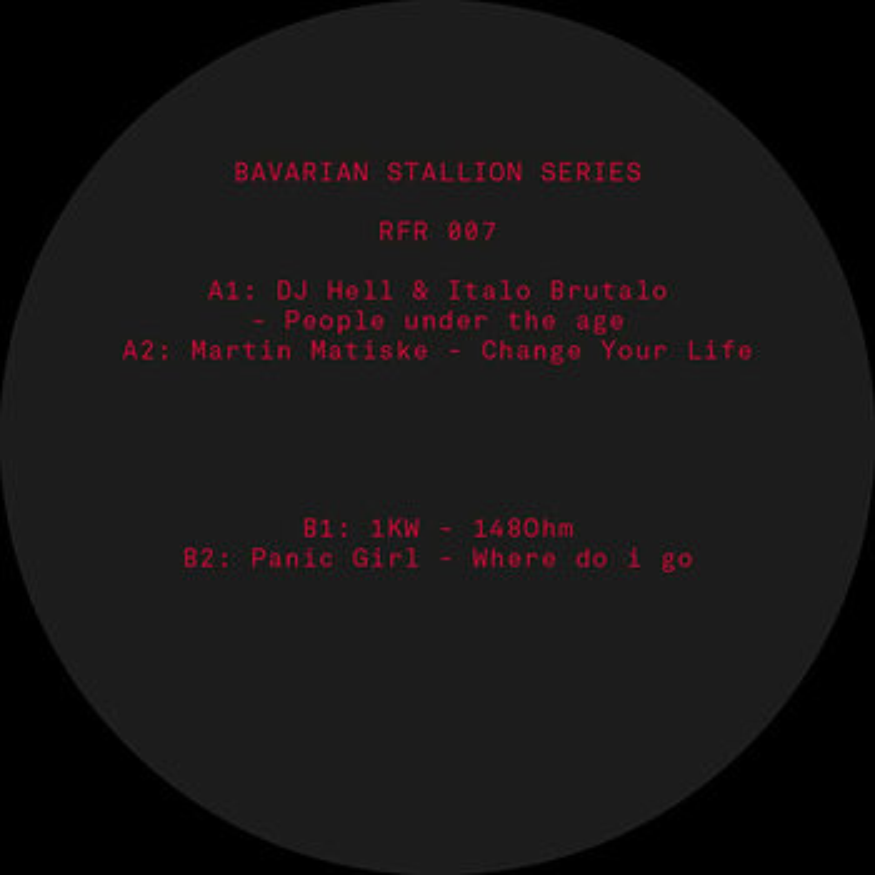 Cover art - Various Artists: Bavarian Stallion Series 007