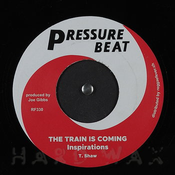 Cover art - The Inspirations: The Train Is Coming