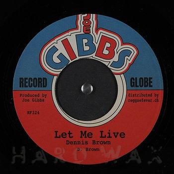 Cover art - Dennis Brown: Let Me Live