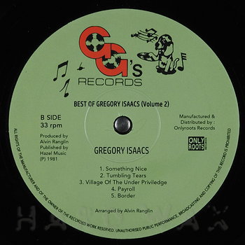 Cover art - Gregory Isaacs: The Best Of Gregory Isaacs Vol. 2