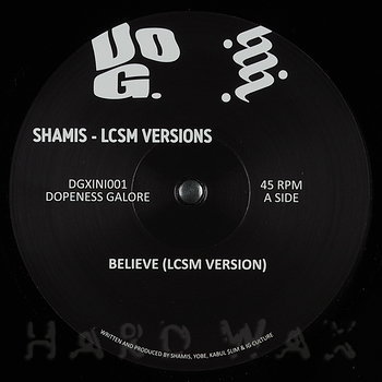 Cover art - LCSM & Shamis: Believe