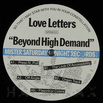 Cover art - Love Letters: Beyond High Demand