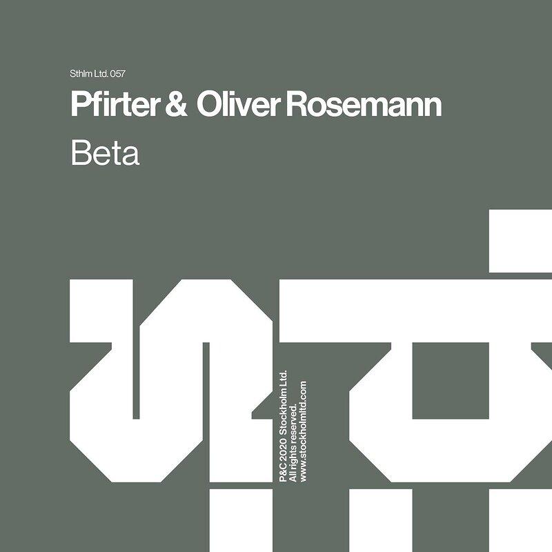 Cover art - Pfirter & Oliver Rosemann: Beta