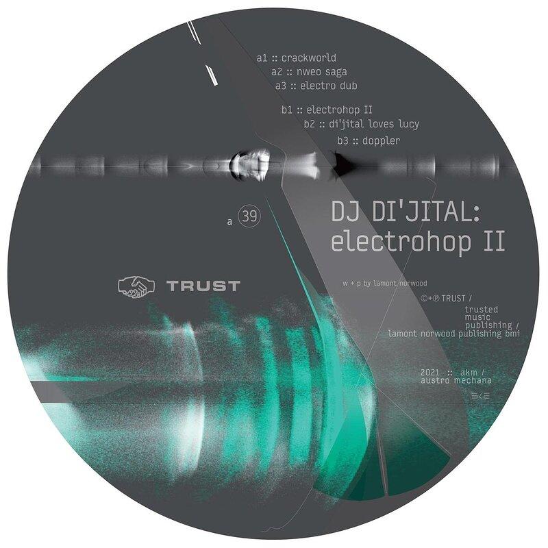 Cover art - DJ Di'jital: ElectroHop II