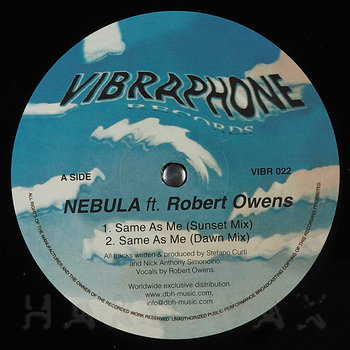 Cover art - Nebula & Robert Owens: Same As Me