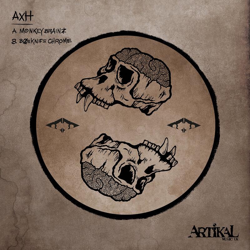 Cover art - AxH: Monkey Brainz