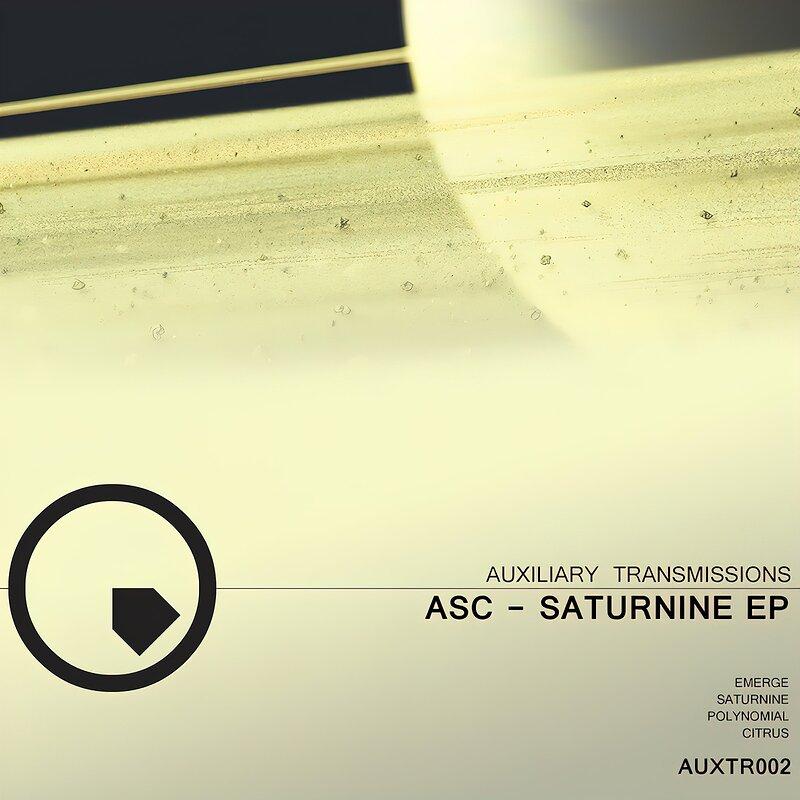 Cover art - ASC: Saturnine EP