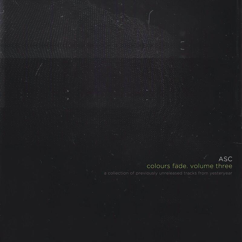 Cover art - ASC: Colours Fade, Vol. 3