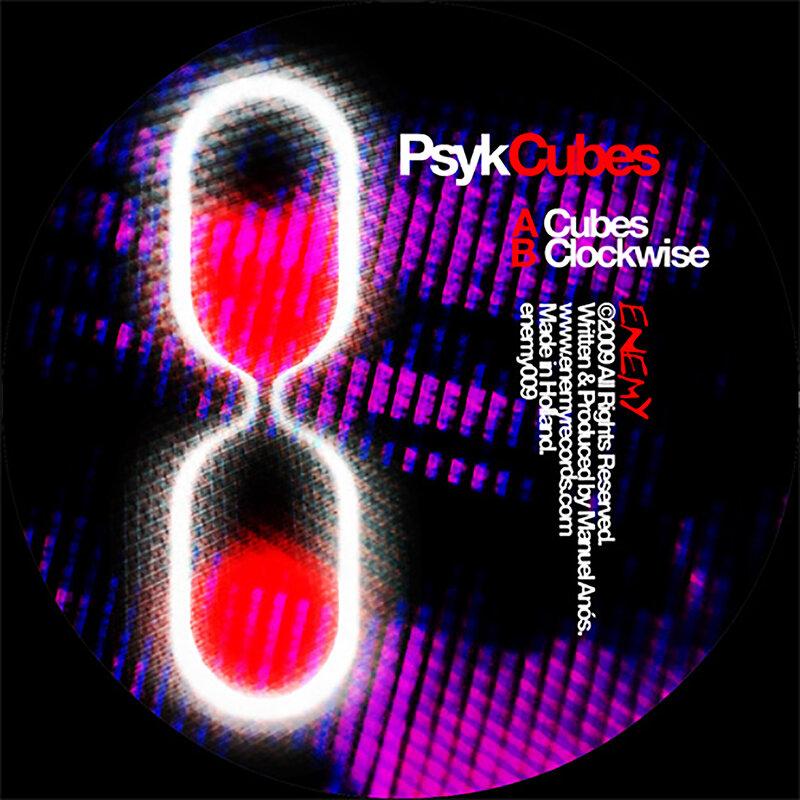 Cover art - Psyk: Cubes