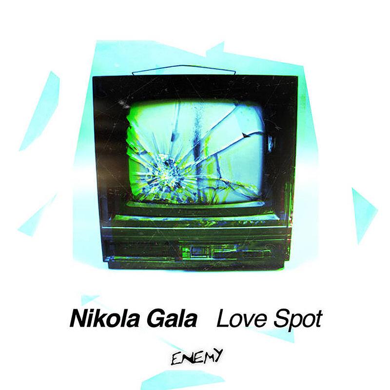 Cover art - Nikola Gala: Love Spot
