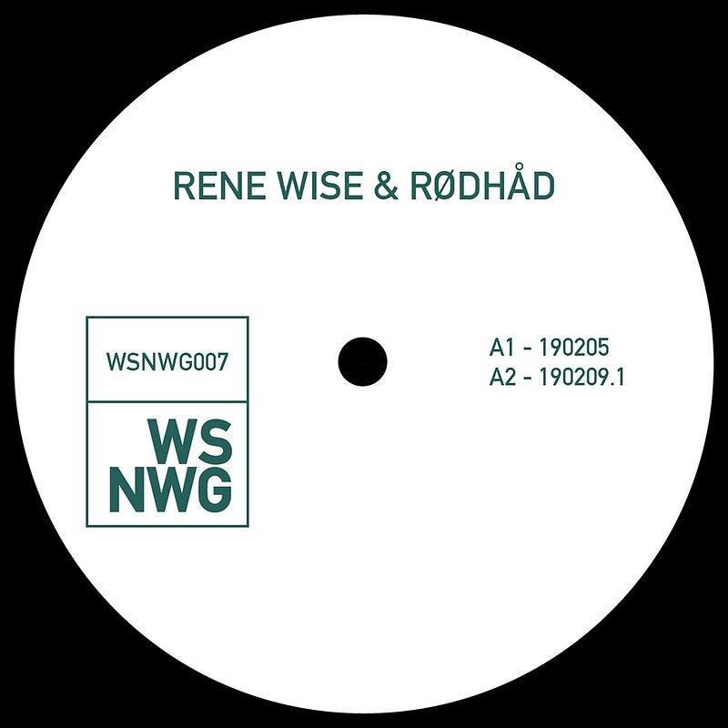 Cover art - Rene Wise & Rødhåd: WSNWG 007