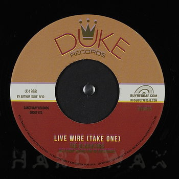 Cover art - The Gladiators: Live Wire (Take One)
