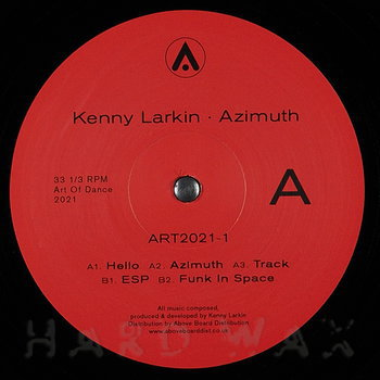 Cover art - Kenny Larkin: Azimuth (Expanded Edition)