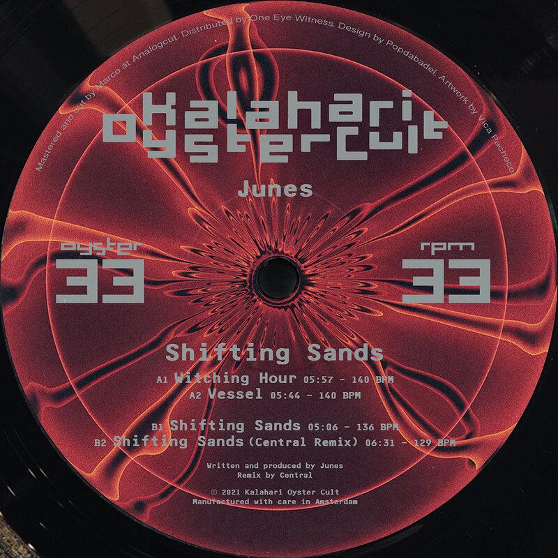 Cover art - Junes: Shifting Sands