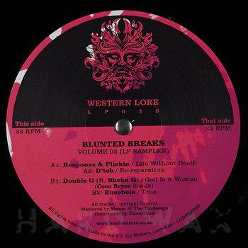 Cover art - Various Artists: Blunted Breaks Vol. 2 (LP Sampler)