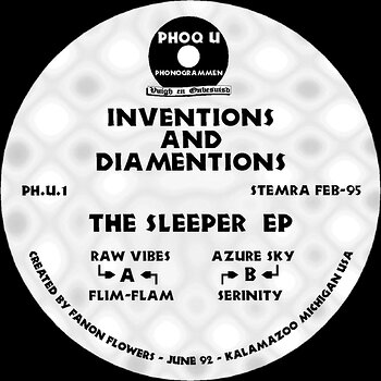Cover art - Inventions And Diamentions: The Sleeper EP (2018 Remaster)