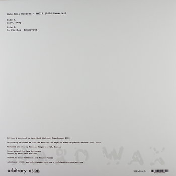 Cover art - Mads Emil Nielsen: PM016