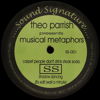 Cover art - Theo Parrish: Musical Metaphors