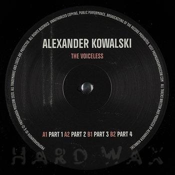 Cover art - Alexander Kowalski: The Voiceless