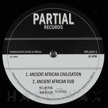 Cover art - Alpha & Omega w/ Nishka: Ancient African Civilisation