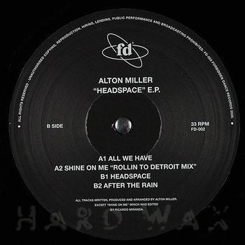 Cover art - Alton Miller: Headspace EP