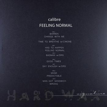 Cover art - Calibre: Feeling Normal