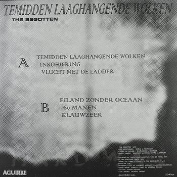 Cover art - The Begotten: Temidden Laaghangende Wolken