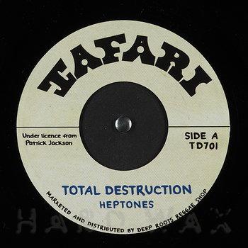 Cover art - The Heptones: Total Destruction