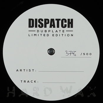 Cover art - Loxy & Resound / Loxy & Skeptical: Dispatch Dubplate 017