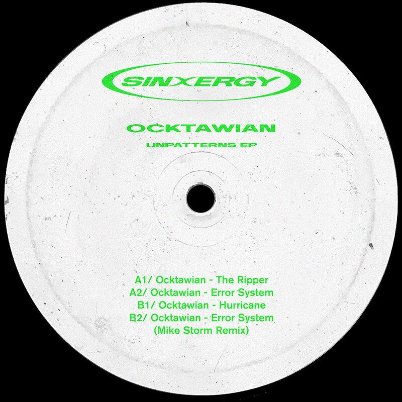 Cover art - Ocktawian: UnPatterns EP