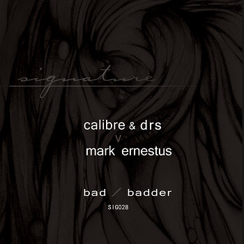 Cover art - Calibre & DRS v Mark Ernestus: Bad / Badder