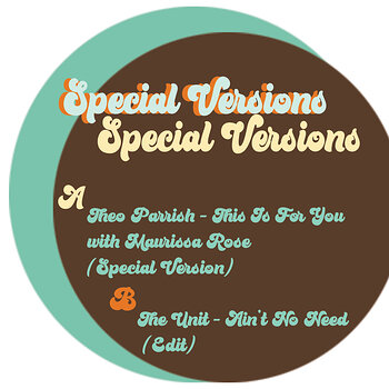Cover art - Theo Parrish: Special Versions
