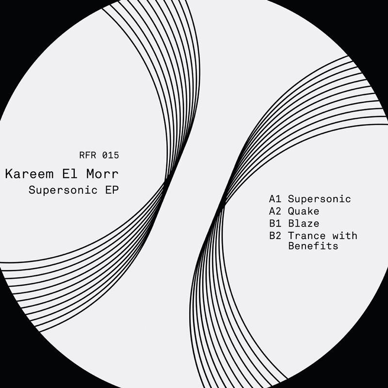 Cover art - Kareem El Morr: Supersonic