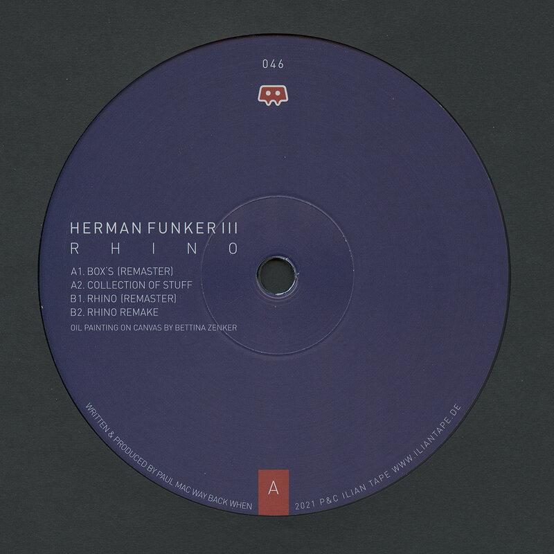 Cover art - Herman Funker III: Rhino