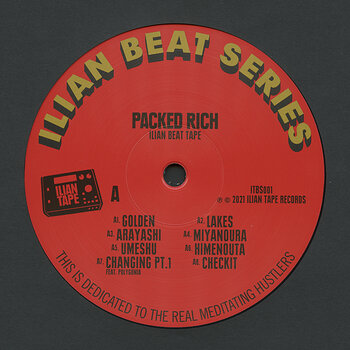 Cover art - Packed Rich: Ilian Beat Tape