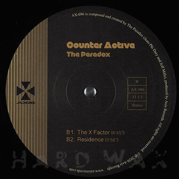 Cover art - The Paradox: Counter Active